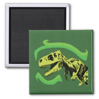 Esqueleto del dinosaurio de T-Rex Imanes