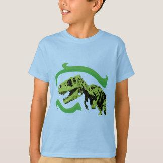 Esqueleto del dinosaurio de T-Rex Playera