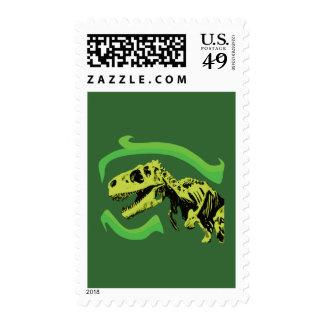 Esqueleto del dinosaurio de T-Rex Sello