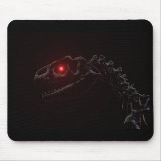 Esqueleto del dinosaurio del zombi de los Undead Alfombrillas De Ratones