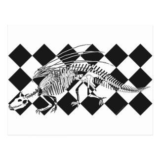 Esqueleto del dragón postal