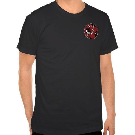 Esqueleto del fútbol camisetas