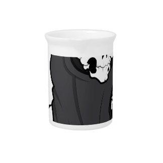 Esqueleto del segador de Halloween Graim Jarra Para Bebida