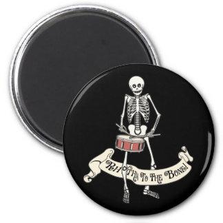Esqueleto del tambor iman de frigorífico