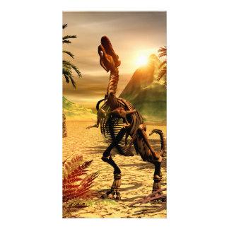 Esqueleto del Tyrannosaurus Tarjetas Fotográficas Personalizadas