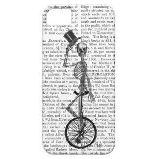 Esqueleto en el Unicycle Funda Para iPhone 5 Barely There