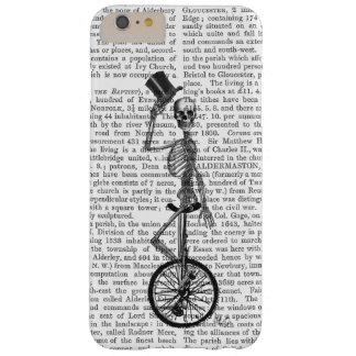 Esqueleto en el Unicycle Funda Para iPhone 6 Plus Barely There