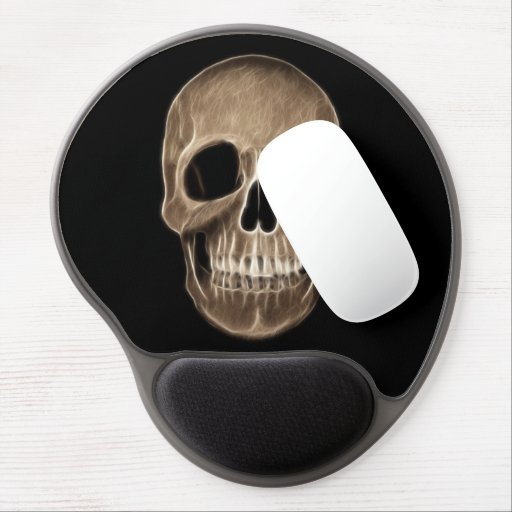 Esqueleto humano de la radiografía de Halloween de Alfombrilla De Raton Con Gel