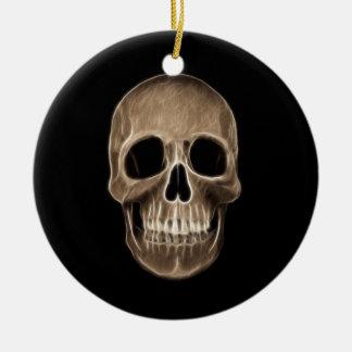 Esqueleto humano de la radiografía de Halloween de Adorno