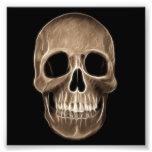Esqueleto humano de la radiografía de Halloween de Fotografía