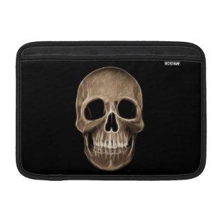 Esqueleto humano de la radiografía de Halloween de Fundas Macbook Air