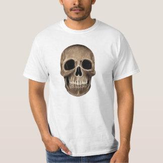 Esqueleto humano de la radiografía de Halloween Playera