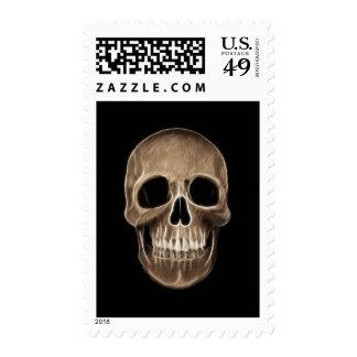 Esqueleto humano de la radiografía de Halloween Franqueo