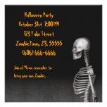Esqueleto - invitación del fiesta de Halloween