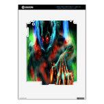 Esqueleto malvado iPad 3 skins
