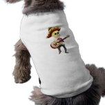 Esqueleto masculino del azúcar del Mariachi Camisetas De Perrito