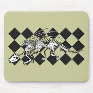 Esqueleto Mousepad del dragón Alfombrilla De Raton