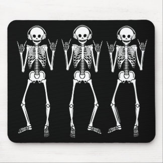 Esqueleto oscilante alfombrilla de raton