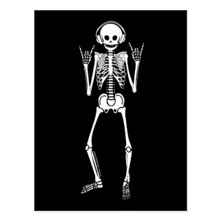 Esqueleto oscilante postal