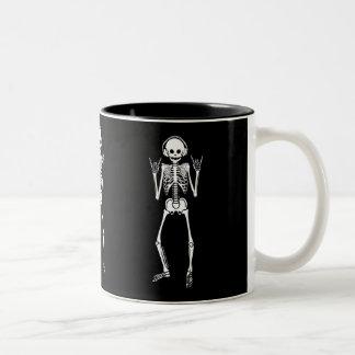Esqueleto oscilante taza