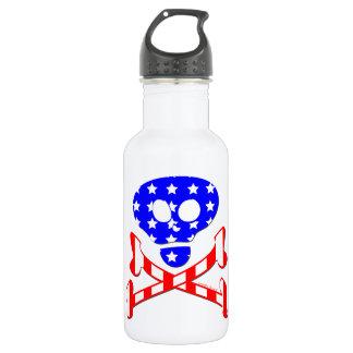 Esqueleto patriótico