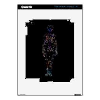 Esqueleto Pegatinas Skins Para iPad 3