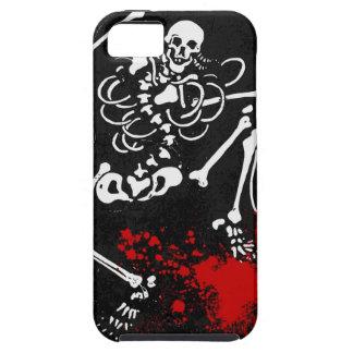 Esqueleto sangriento iPhone 5 coberturas