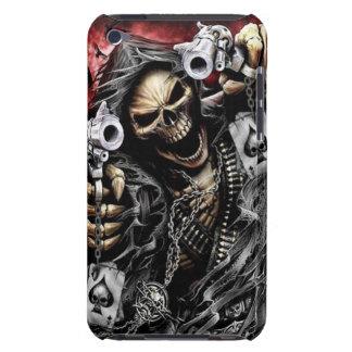 Esqueleto y armas funda para iPod de barely there