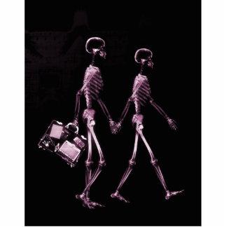 Esqueletos de Vision de la radiografía de los pare Esculturas Fotográficas