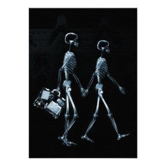 Esqueletos de Vision de la radiografía de los pare Anuncios Personalizados