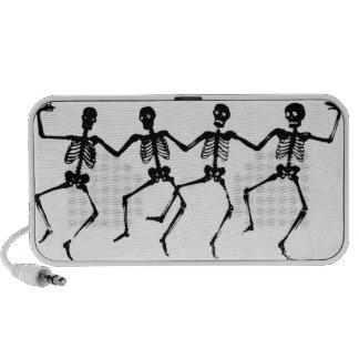 Esqueletos del baile PC altavoces