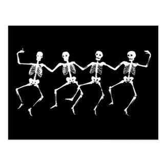 Esqueletos del baile II Postales
