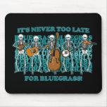 Esqueletos del Bluegrass Tapete De Ratones