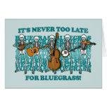 Esqueletos del Bluegrass Tarjetas