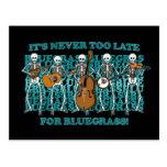 Esqueletos del Bluegrass Tarjetas Postales