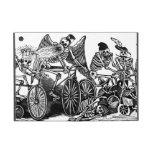 Esqueletos en las bicicletas iPad mini carcasas