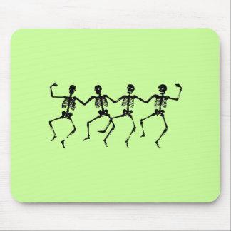 Esqueletos Mousepad del baile Alfombrilla De Raton