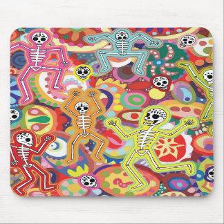 Esqueletos Mousepad del baile Alfombrilla De Ratones