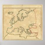 Esquema 2 de Europa Póster