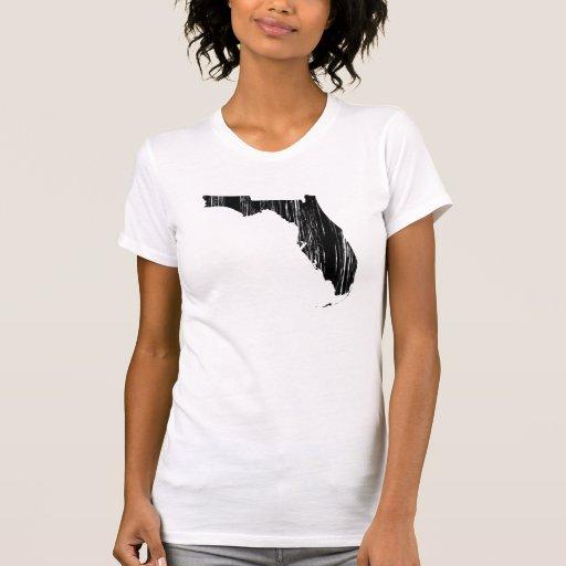 Esquema apenado del estado de la Florida Camisetas