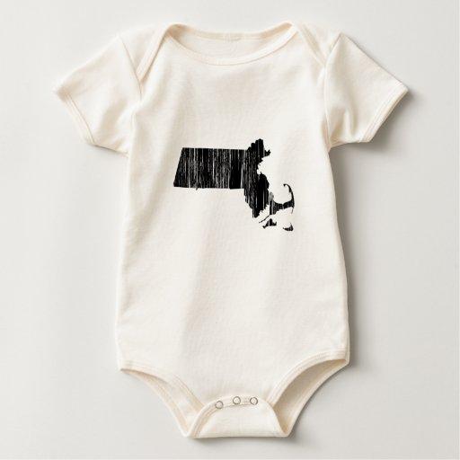 Esquema apenado del estado de Massachusetts Body De Bebé