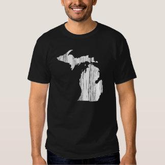 Esquema apenado del estado de Michigan Camisas