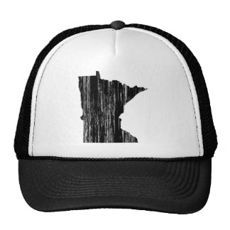 Esquema apenado del estado de Minnesota Gorros Bordados