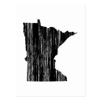 Esquema apenado del estado de Minnesota Postal