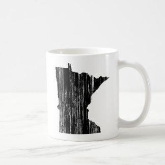 Esquema apenado del estado de Minnesota Tazas De Café