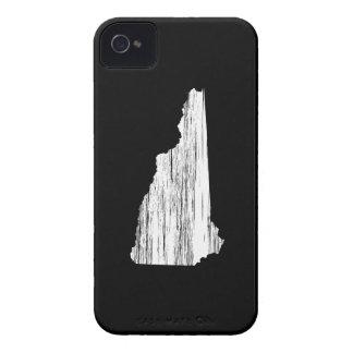 Esquema apenado del estado de New Hampshire Funda Para iPhone 4 De Case-Mate