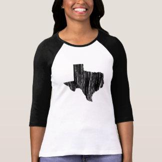Esquema apenado del estado de Tejas Camiseta
