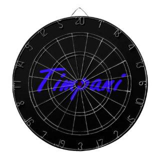 esquema blue.png del negro del texto del timpani