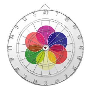 Esquema de color colorido de los círculos