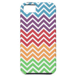 Esquema de color de Chevron Gumball iPhone 5 Protectores